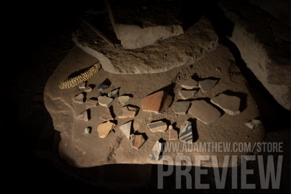 Ancient Pottery Sherds