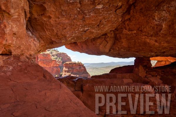 A Window To Adventure, Sedona