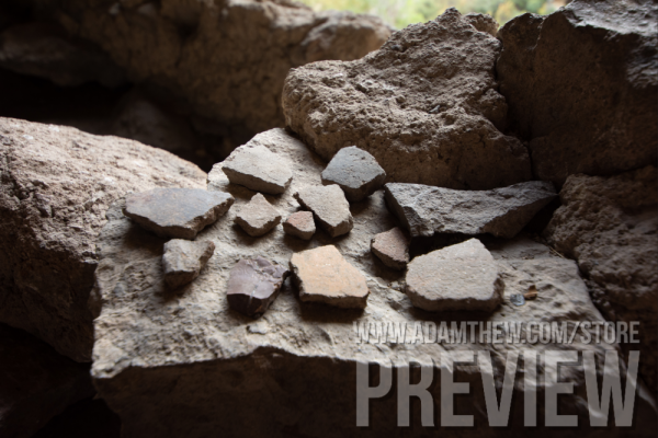 Ancient Pottery Sherds (2)