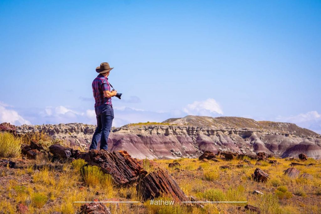 Me, Petrified Forest